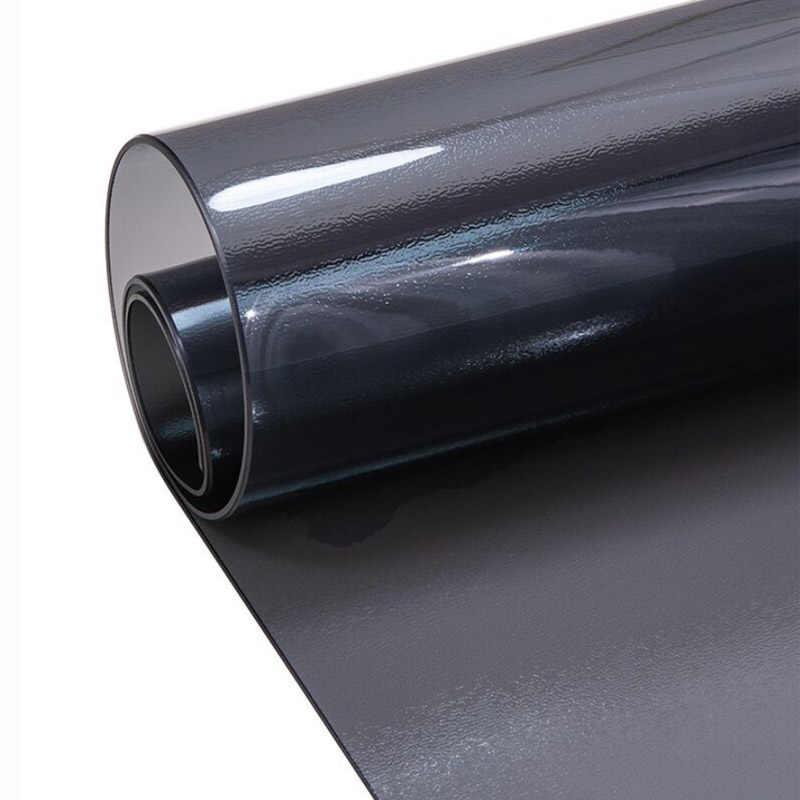 New Black PVC Tovaglia D 'Waterproof Tovaglia Vetro Morbido di Colore Puro Impermeabile e Antiolio 1.0 millimetri Decorazione Della Casa Tovaglia