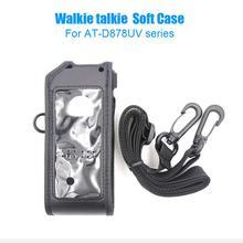 ANYTONE AT D878UV PLUS Weiche Leder fall Taschen fit für ANYTONE AT D878UV AT D878UVPLUS walkie talkie