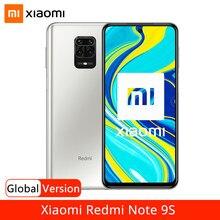 Xiaomi smartphone redmi note 9 s, telefone celular, versão global, 9 s, 64gb, 128gb, snapdragon 720, g, 48mp ai quad bateria 6.67