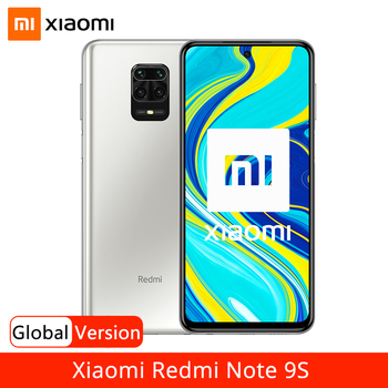 "Global Version Xiaomi Redmi Note 9S 9 S 64GB 128GB Smartphone Snapdragon 720G 48MP AI Quad Camera 6.67"" Display 5020mAh Battery"