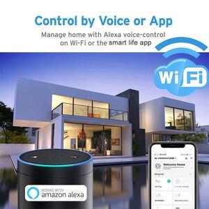 Image 4 - NEO Coolcam capteur de température humidité, alarme Wifi, sirène Tuya, compatible avec Google Home Assistant