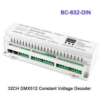 24 32 40 channel DMX512/8bit/16bit Input DC12V-24V RJ45 Connect LED RGB/RGBW Decoder controller for led Strip lamp light - DISCOUNT ITEM  23 OFF Lights & Lighting
