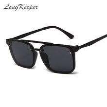 Солнцезащитные очки для мужчин и женщин longkeeper винтажные