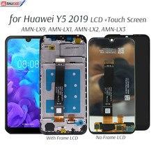 Display para huawei y5 2019 lcd substituição da tela de toque para huawei y 5 2019 AMN-LX9, lx1, lx2, tela lcd do telefone lx3 testado