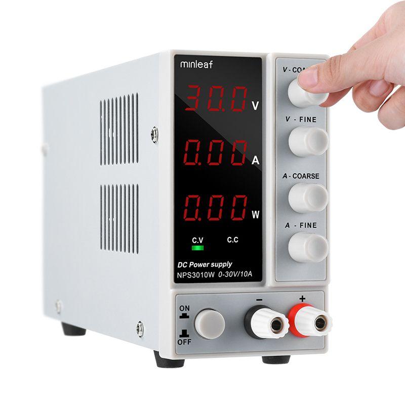 NPS3010W 110V/220V Digital Adjustable DC Power Supply 0-30V 0-10A 300W Stable Adjustable Laboratory Switching Power Supply