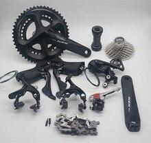 Shimano conjunto original de bicicleta, conjunto de bicicleta de estrada 105 r7000 com freio 50/34t 53/39t 52 36t 170 /172.5mm 165/175mm r7000