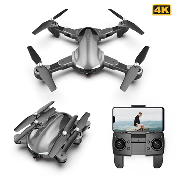 A19 Drone GPS 4K 5G Optical Flow WiFi FPV with HD Dual Camera Foldable Dron RC Quadcopter Gesture Take Pictures Altitude Hold