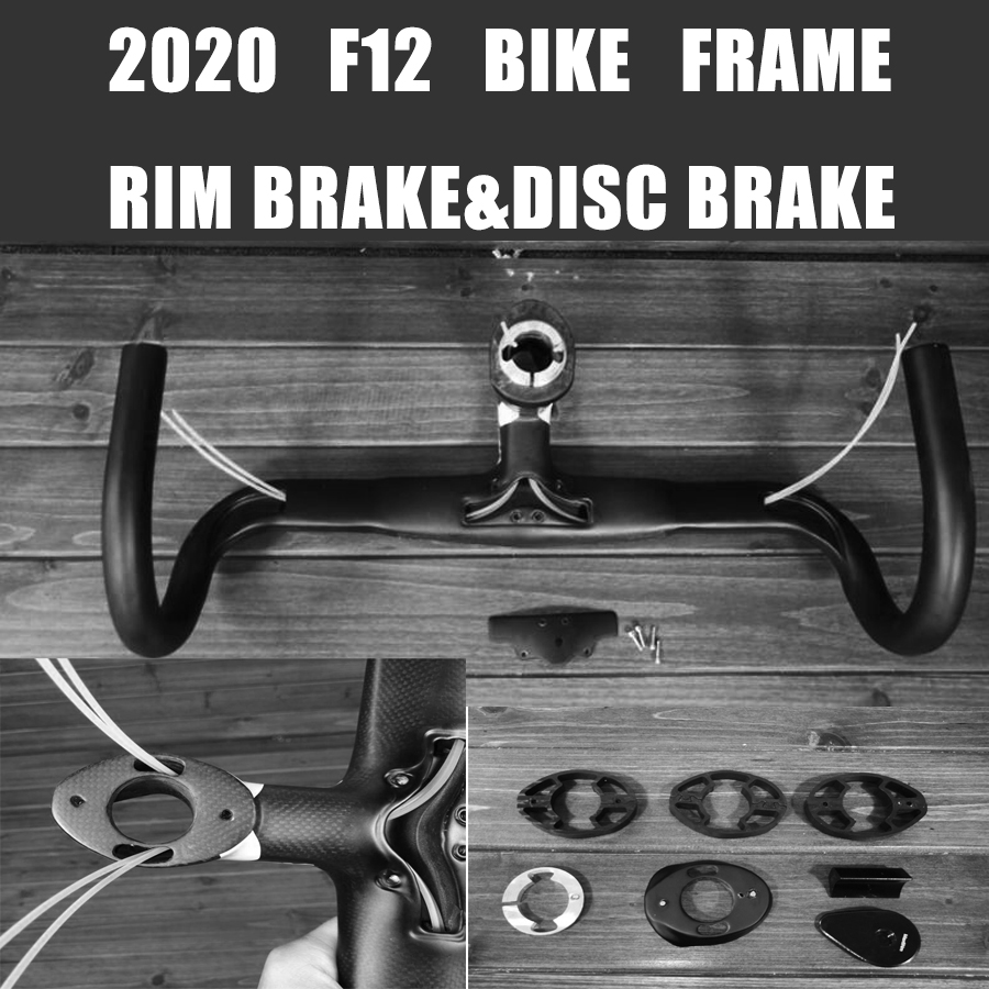 Frame Bicyle Road-Bike 1k-Disc-Brake Carbon T1100 F12 Taiwan New Made-Xdb-Available All-Internal-Cable title=