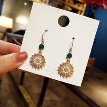 Korean new fashion  pearl earrings simple personality Earrings trendy luxury boho bohemian jewelry