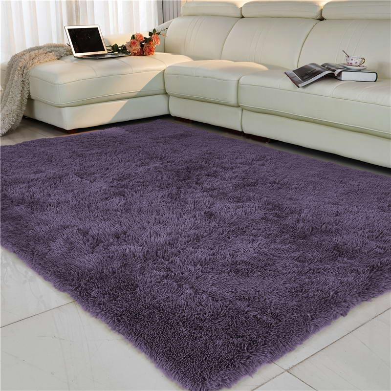 Коврик для гостиной/спальни, противоскользящий, мягкий, 150 см* 200 см, современный ковер, коврик, белый, розовый, серый, 11 цветов - Цвет: 09