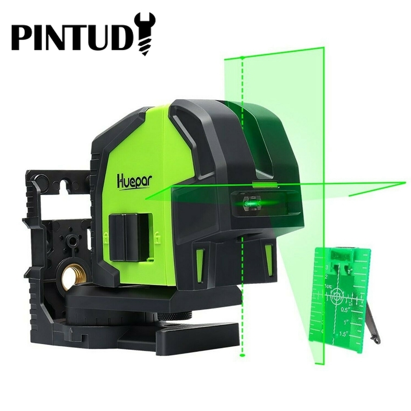 8211G Green Cross Multiusos Line Laser Level With 2 Plumb Dots Professional Self Leveling Plumb Dots Niveles Para Construcion
