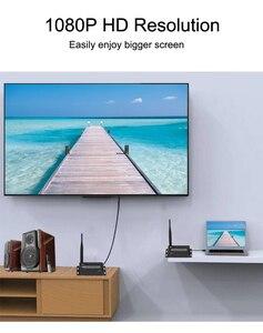 Image 5 - Prolongateur HD sans fil 50M 2.4G/5G 1080P, émetteur récepteur, Extension compatible Hdmi, convertisseur Audio vidéo DVD PC vers TV