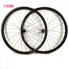 29 wheelset mtb bicycle carbon disc wheel titanium alloy spokes 37x24mm tubeless DT 180S increase 110×15 148×12 carbon bike wheels