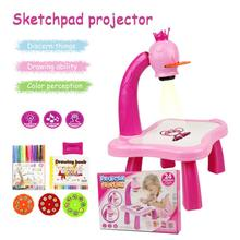 Toy Projector Drawing-Table Toddler Children Office Kids And No for Notebook-Pen Crafts