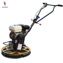 New Arrival 60 typ benzyna Edger maszyna do obrzeży chodzić za zacieraczka do betonu Troweling maszyna 600mm średnica robocza w Zestawy elektronarzędzi od Narzędzia na