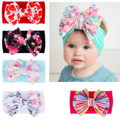 Newborn Toddler Infant Baby Kid Hair Bow Headwear Baby Girl Headband Hairband 1pc