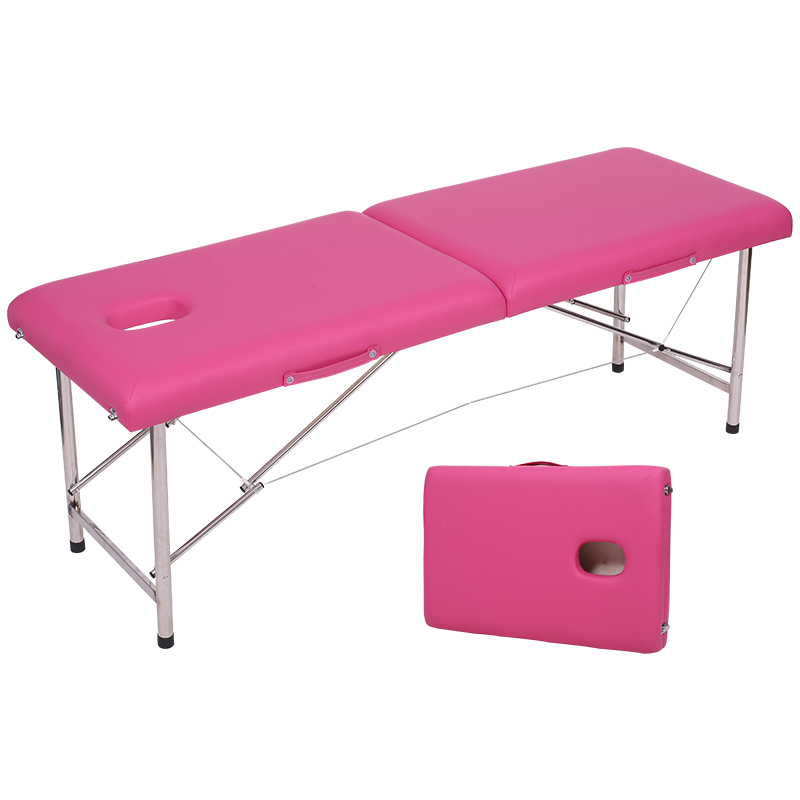 Folding Portable Original Point Massage Bed Home Moxibustion Tattoo Body Massage Physiotherapy Beauty Bed Portable