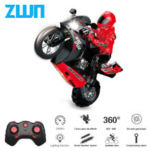 ZWN M5 1/6 Big Zise Self-Balancing RC Motorcycle 210 Minute Operating Time Stunt