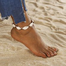 Anklets for Women Foot Jewelry Summer Beach Barefoot Sandals Bracelet Shell Anklet Female Anklets Strap Bohemian цена 2017