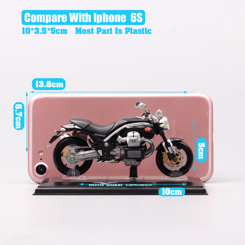 Children s Mini 1 22 scale Starline Italeri MG Moto Guzzi Griso motorbike Diecasts Toy Vehicles