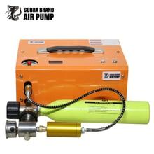 Combar 4500psi 300bar 12v compressor de ar pcp bomba alta pressão compressor transformador pneumático carabina rifle inflator