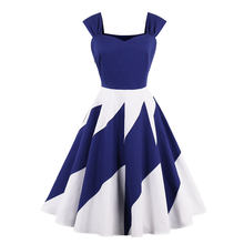 MIXINNI 95% COTTON INS Printed Summer 50s 60s Vintage Dress Slim Vestido Plus Size Women Elegant Party Dresses Dames Jurken 1602