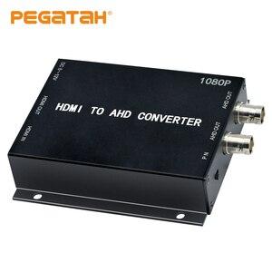 Новый 1080P HDMI в AHD видео конвертер, мини-видео конвертер адаптер HDMI петля с 2CH AHD Выход конвертер для монитора HDTV DVRs