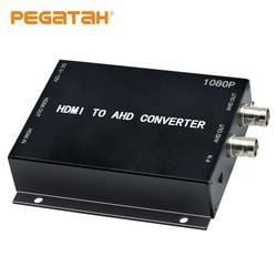 Nieuwe 1080P Hdmi Naar Ahd Video Converter Mini Video Converter Adapter Hdmi Loop Met 2CH Ahd Uitgang Converter Voor monitor Hdtv Dvrs