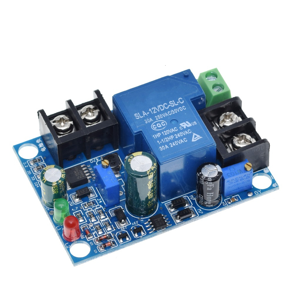 30A Automatic Battery Charger Charging Controller Protection Module 12-48V Excessive Protect Board YX1708 36V