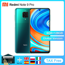 Xiaomi Redmi Note-9 Pro 64gb 6GB GSM/WCDMA NFC Adaptive Fast Charge Gorilla Glass Fingerprint Recognition