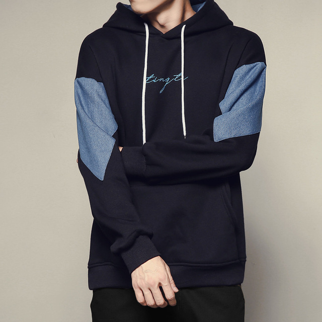 Splicing Running Sportswear Hoodie Stylish Hoodies Unisex color: Apricot|Black