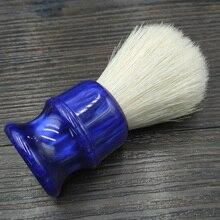 Dscosmetic brocha de afeitar con nudos cerdas de jabalí, 26MM, con mango de resina