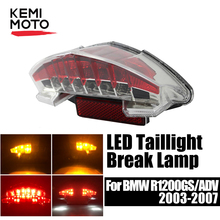 Tail light for BMW R1200GS LC Adventure F800GS Smoke LED Rear Brake Tail Light Turn Signals for BMW GS 1200 LC Adventure R1200R arashi for bmw r1200gs 2004 2007 e mark brake turn signal tail light rear tail light led light r 1200gs r1200 gs 2007 2006 2005