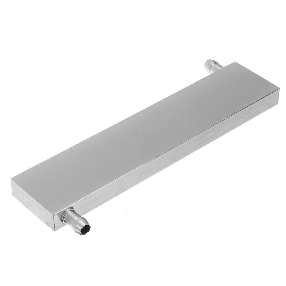 40x180x12mm Aluminum Water Cooling Block For CPU Semiconductor Cooling Radiator Heatsink