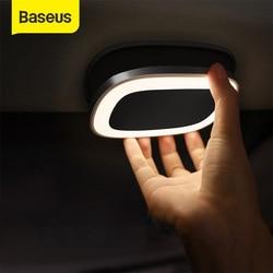 Baseus voiture liseuse tactile veilleuse aimant lampe voiture lumière intérieure USB Charge LED voiture intérieur lampe Auto accessoires