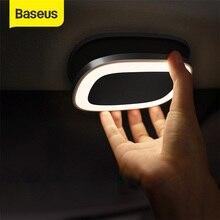 Baseus سيارة القراءة ضوء اللمس ليلة ضوء المغناطيس مصباح سيارة الداخلية ضوء USB تهمة LED سيارة مصباح داخلي اكسسوارات السيارات