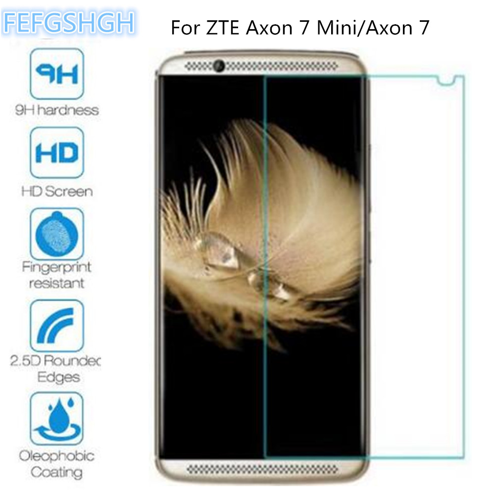 Tempered Glass For ZTE Axon 7 Mini Explosion Proof Screen Protector For ZTE Axon 7 2017 Protective Film Glass