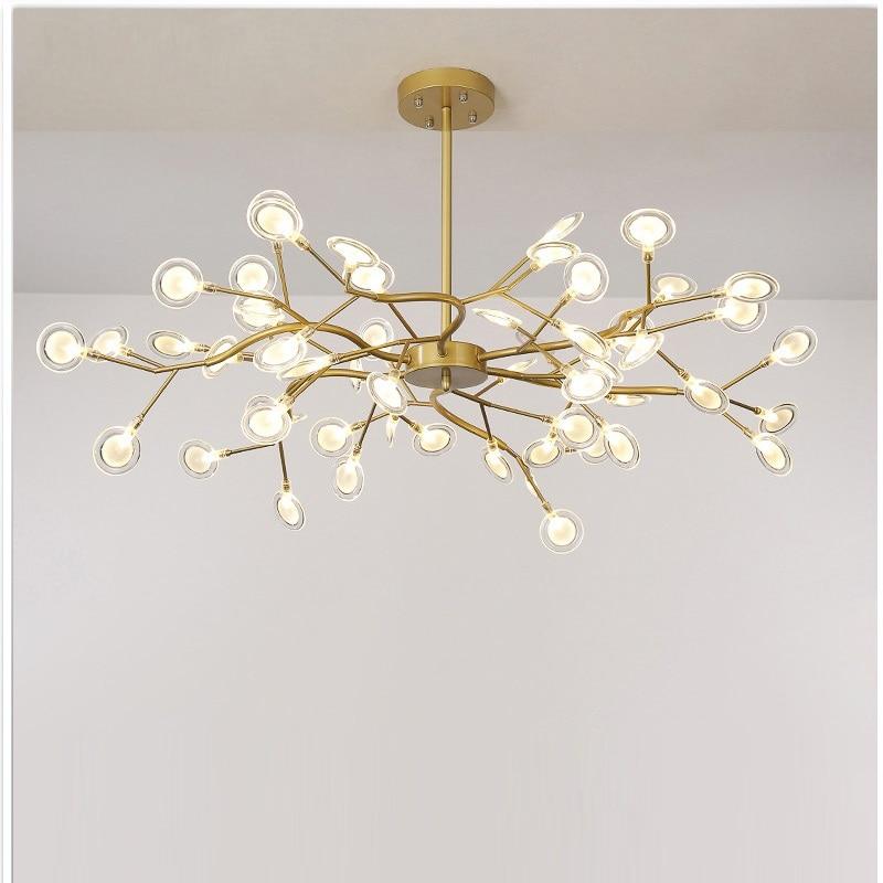 Modern firefly LED Chandelier light stylish tree branch chandelier lamp decorative firefly ceiling chandelies hanging Lighting 1