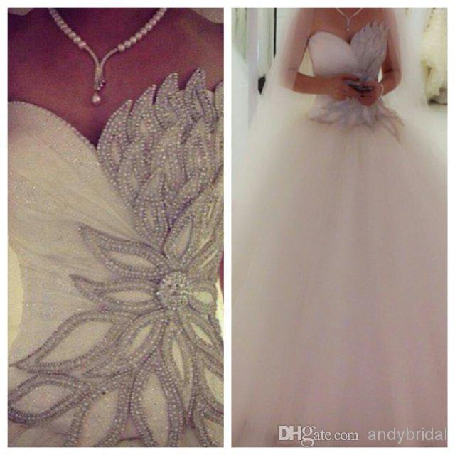 Custom Lace Up Luxury Crystal Vestido De Noiva 2018 New Vestido De Noiva Long Bridal Gown Bandage Mother Of The Bride Dresses