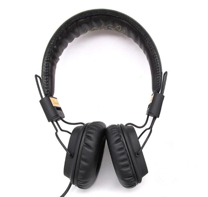 Major i para marshall fones de ouvido estéreo alta qualidade 3.5mm com fio fone de ouvido com microfone saco