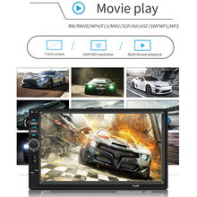 7inch Car MP5 Player Wireless Communication Rearview Reverse Image Video Music Player Radio 7018B F-Best(China)