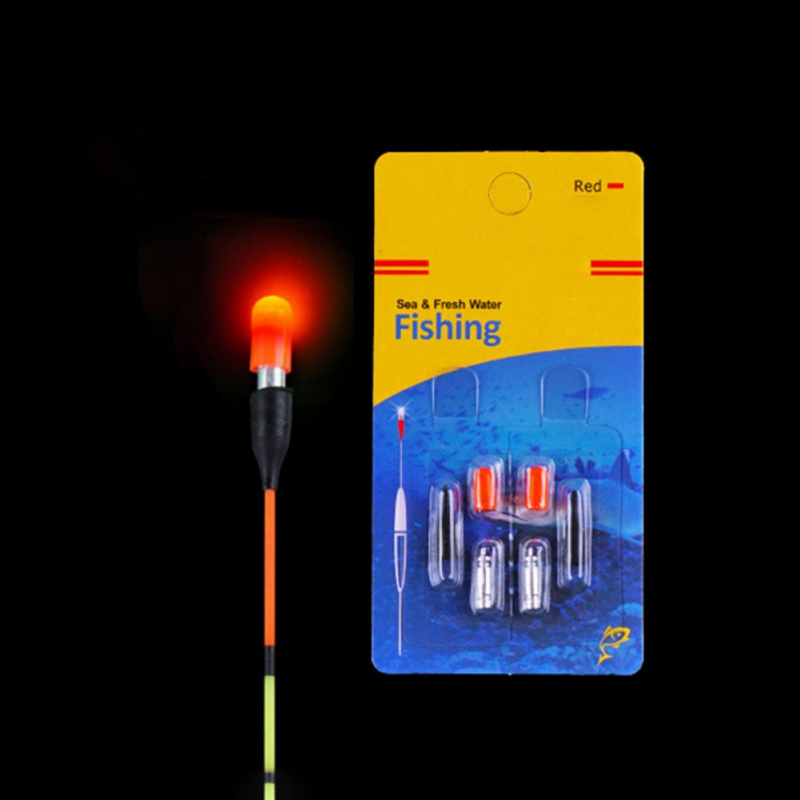 LED Electronic Fishing Float 5 Pieces / Set Battery Fishing Float Battery Lithium Needle Float Ball Light Bar