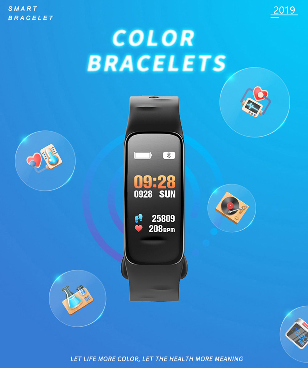 P2 Smart bracelet 01