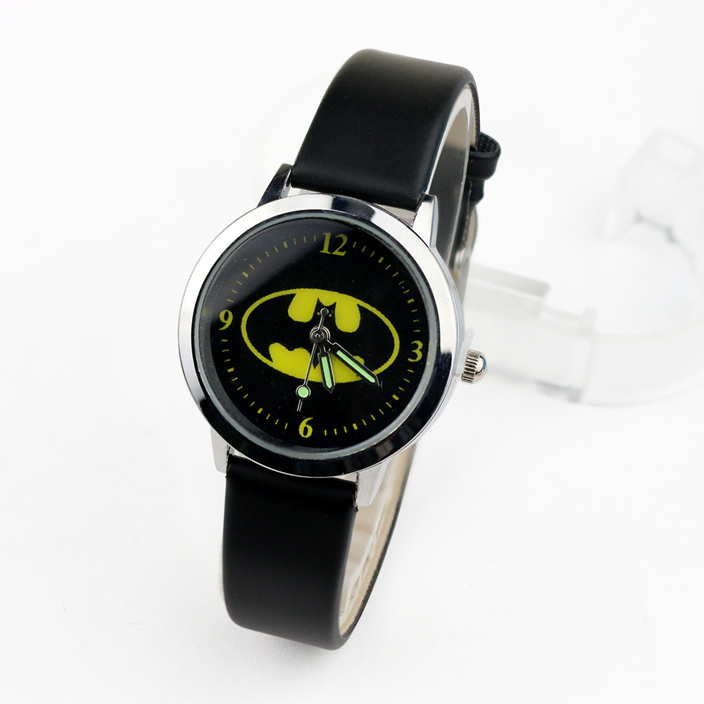 Batman Children Watches Kids Quartz Wristwatches Princess Girls Watch Boys Students Clock Relogio Kol Saati Relogio Infantil