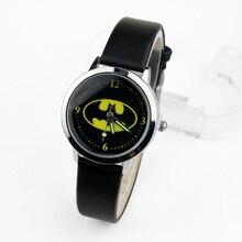 Batman Children Watches Kids Quartz Wristwatches Princess Girls