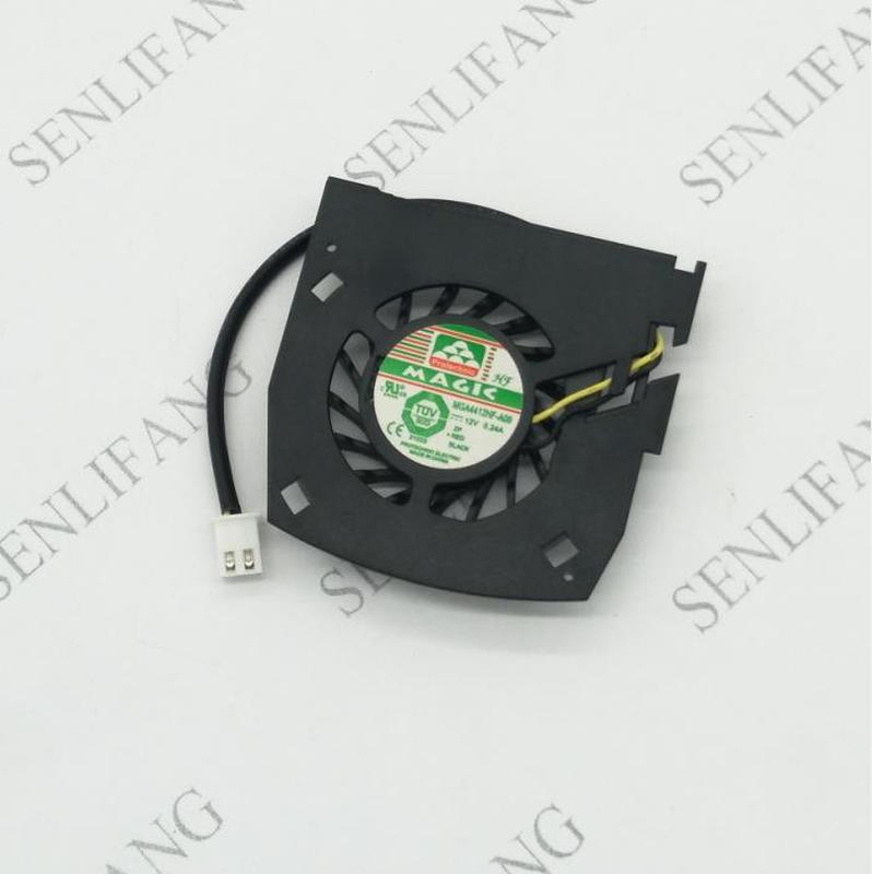 For MBA4412HF-A09 12V 0.24A GPU Cooler Graphics Card Fan For Nvidia GT630 Video Card Cooling