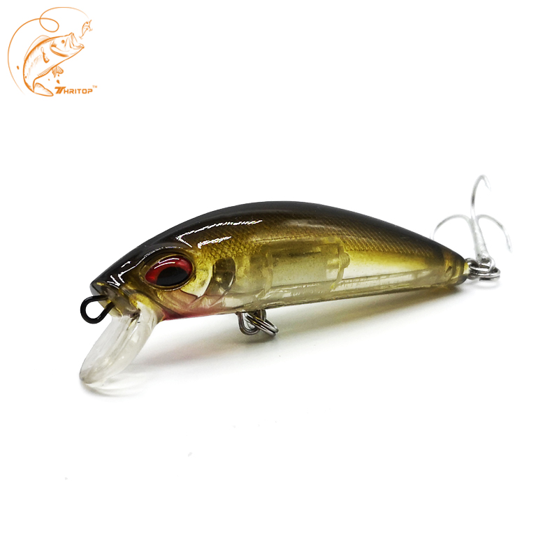 Thritop New <font><b>Minnow</b></font> Fishing Bait Hard Lure 5 Various Colors 10.5G <font><b>70MM</b></font> TP110 High Quality Hooks Bass Pike Lure Tackle Accessories image