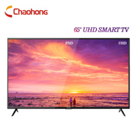 CHAOHONG Smart TV 65 Inches UHD 60Hz Resolution ATV DVB-T2/S2 Wi-Fi DLED Television 1