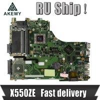 Akemy X550ZE A10-7400U 노트북 Asus X550ZE X550Z X550 K550 VM590Z A555Z K555Z X555Z 테스트 메인 보드 EDP