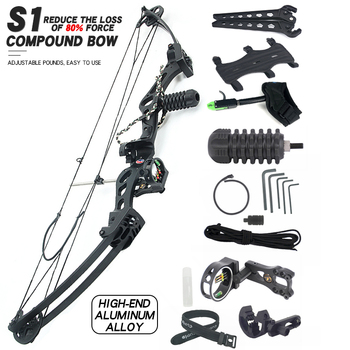цена на Compound Bow Shooting Bow for Archery Outdoor Sport Hunting Practice Hunting Bow Big Power Bow Archery Accessories для охоты лук